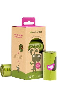 EARTH RATED opakowanie uzupełniające Poop Bags 8×15 szt.