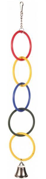 trixie pierścienie z dzwonkiem