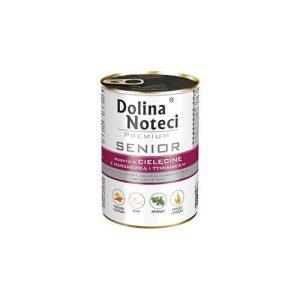 DOLINA NOTECI Senior Cielęcina z marchewką i tymiankiem 400 g