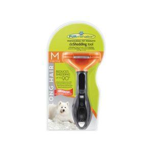 FURminator dla średnich psów długowłosych M