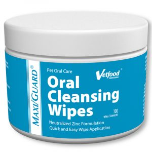 vetfood oral cleansing wipes