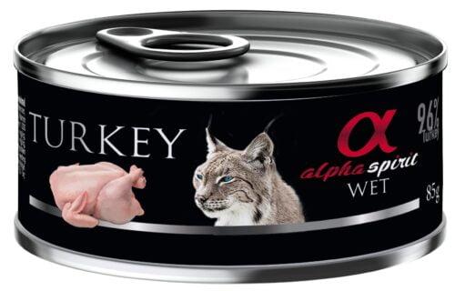 karma dla kota alpha spirit indyk