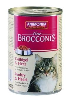 ANIMONDA Brocconis Cat - drób + serca (400 g)