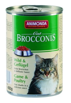 ANIMONDA Brocconis Cat - dziczyzna + drób (400 g)
