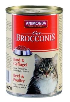 ANIMONDA Brocconis Cat - wołowina + drób (400 g)