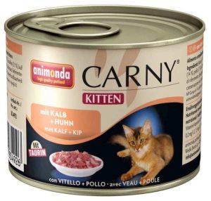 ANIMONDA Carny Kitten - wołowina + cielęcina + kurczak