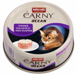 ANIMONDA Carny Ocean - tuńczyk + lucjan czerwony (80 g)