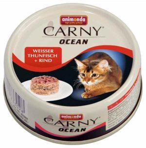 ANIMONDA Carny Ocean - tuńczyk + wołowina (80 g)