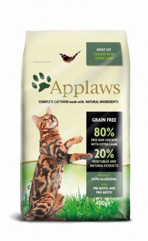 Applaws dla kotów z kurczakiem i jagnięciną