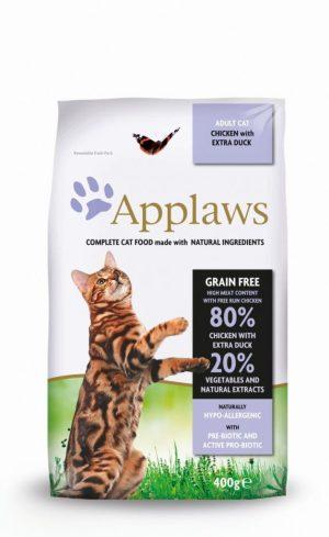 Applaws dla kotów z kurczakiem i kaczką
