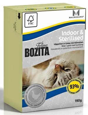 BOZITA Feline Indoor & Sterilised 190 g