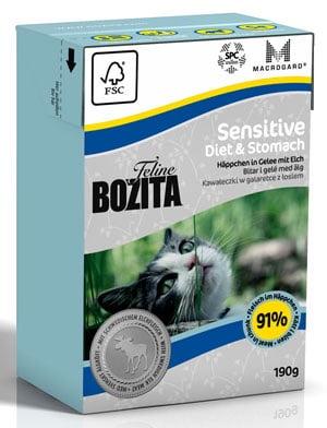 BOZITA Feline Sensitive Diet & Stomach 190 g