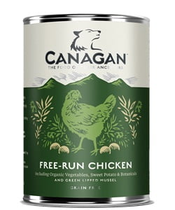 karma mokra dla psa Canagan Free Run Chicken