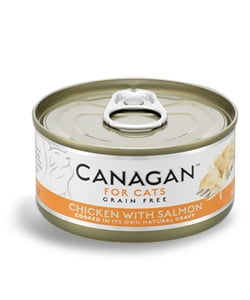CANAGAN Cat Chicken with Salmon 75 g