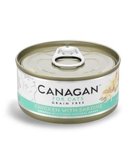 CANAGAN Cat Chicken with Sardine 75 g
