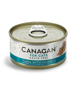 CANAGAN Cat Tuna with Mussels 75 g