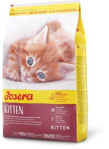 karma sucha dla kota Josera Kitten