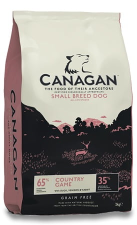 CANAGAN Pies Country Game Small Breed