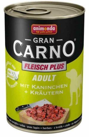 ANIMONDA GranCarno Adult - wołowina + królik + zioła