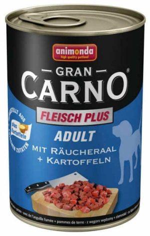 ANIMONDA GranCarno Adult - wołowina + wędzony węgorz + ziemniaki