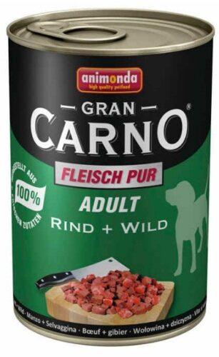 ANIMONDA GranCarno Adult - wołowina + dziczyzna