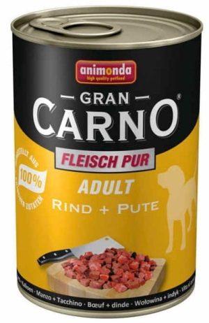 ANIMONDA GranCarno Adult - wołowina + indyk