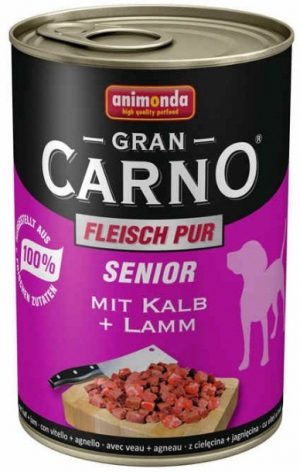 ANIMONDA GranCarno Senior - wołowina + jagnięcina