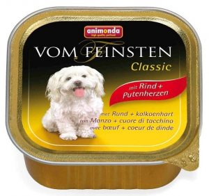 ANIMONDA Vom Feinsten Classic - wołowina + serca indycze (150 g)