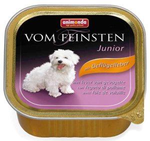 ANIMONDA Vom Feinsten Junior - wątróbka drobiowa (150 g)