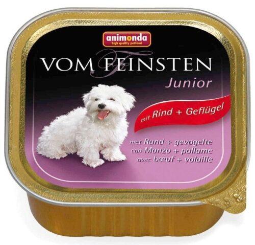 ANIMONDA Vom Feinsten Junior - wołowina + drób (150 g)