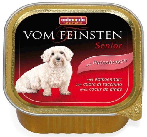 ANIMONDA Vom Feinsten Senior - serca indycze (150 g)