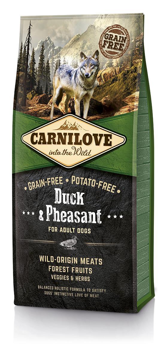 CARNILOVE Dog Duck&Pheasant sucha karma dla psa