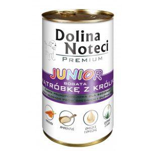 DOLINA NOTECI Junior Wątróbka z królika 400 g