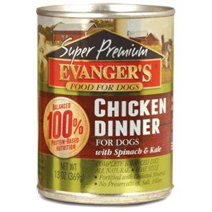 karma mokra dla psa evanger's chicken dinner