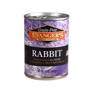 EVANGER'S GRAIN FREE RABBIT 369 g