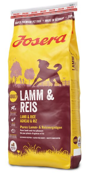 karma sucha dla psa Josera Lamb Rice