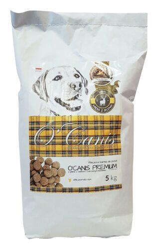 O'Canis Premium sucha karma dla psa z jeleniem 65% mięsa