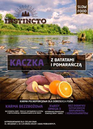 Instincto Kaczka z batatami i pomarańczą