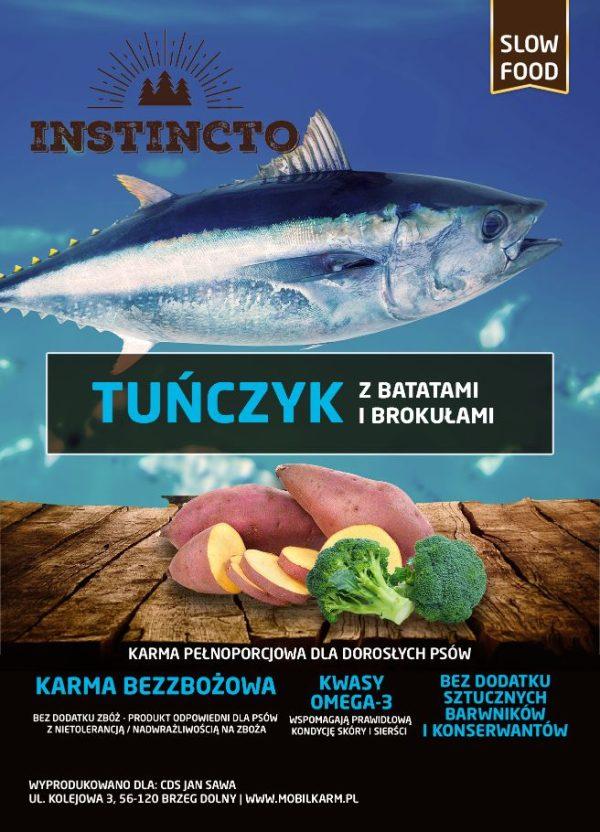 Instincto Tuńczyk z batatami i brokułami