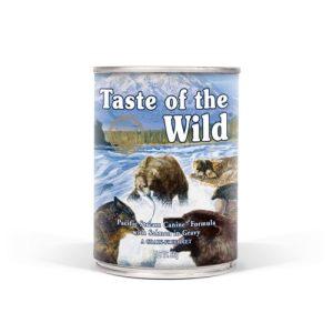 karma mokra dla psa Taste of the Wild pacyfic puszka