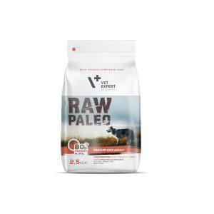 karma sucha dla psa dorosłego średniej rasy vetexpert raw paleo