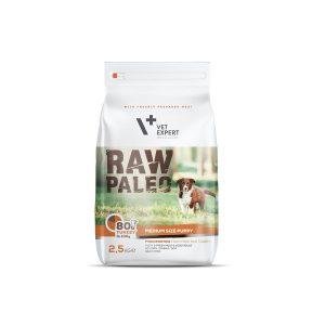 karma dla szczeniaków średnich ras vetexpert raw paleo