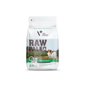 karma sucha dla psa dorosłego małej rasy vetexpert raw paleo