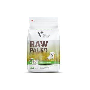 karma dla szczeniaków małych ras vetexpert raw paleo