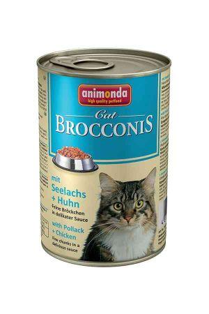 ANIMONDA Brocconis Cat - rdzawiec + kurczak (400 g)