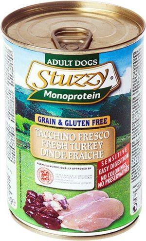 karma mokra dla psa Stuzyy monoprotein indyk