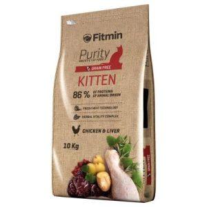 karma sucha dla kota Fitmin Purity Kitten