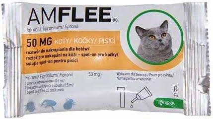 AMFLEE Spot On Kot 50 mg