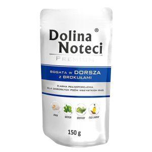 mokra-karma-pies-dolina-noteci-premium-dorsz-brokul-saszetka-150