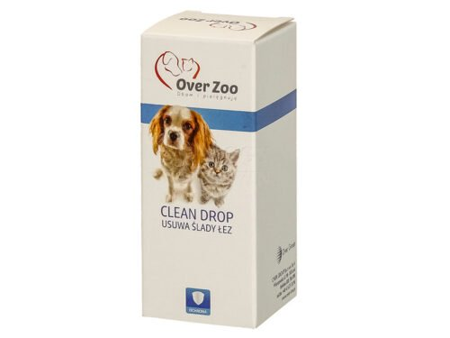 OVER ZOO Clean Drop płyn do usuwania śladów łez 40 ml